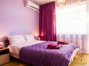 Comfortable Double Bedroom in Luxury Apartment for Short Term Rent in Blagoevgrad Bulgaria