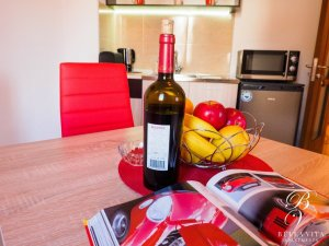 Dining Room in Apartment for Rent Wine in Blagoevgrad Bulgaria