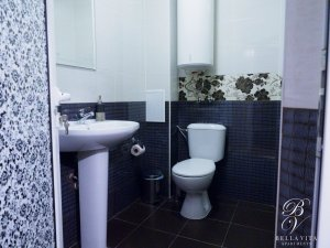 Luxury Bathroom in Furnished Apartment Rental in Blagoevgrad Bulgaria by Owner Budapest