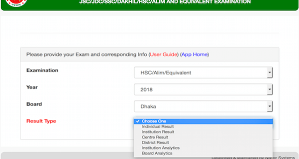 HSC result 2019 Barisal Education Board with full marksheet