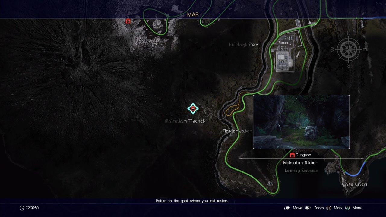 Final Fantasy 15 Dungeon Locations Guide MGW Game Cheats Cheat Codes Guides
