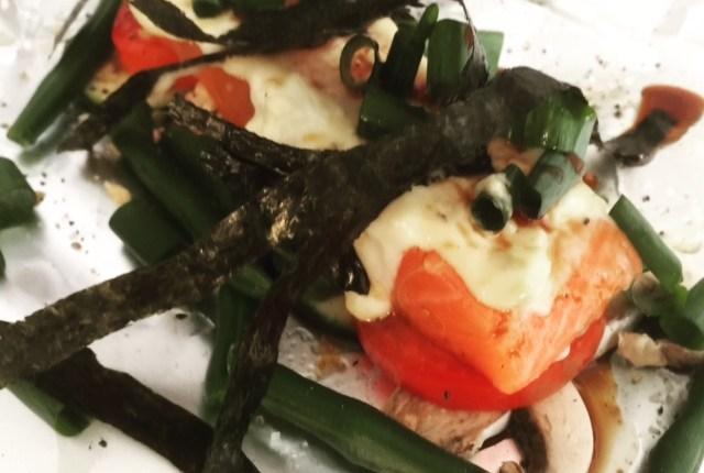"RECIPE – Salmon ""en papilotte"" Nippon Style"