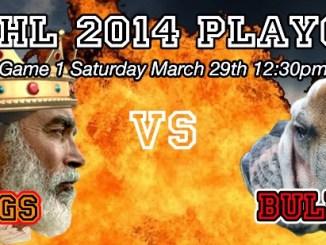 TPWHL Kings vs Bulldogs