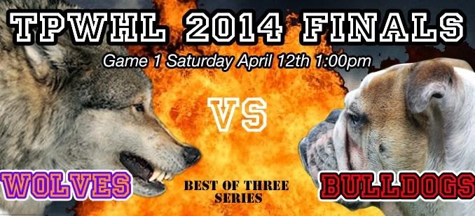 TPWHL Wolves vs Bulldogs