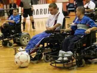 Power Wheelchair Soccer