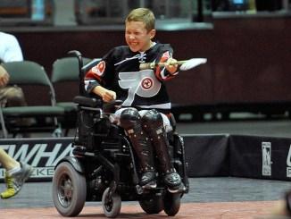 Power Wheelchair Hockey