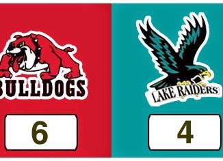 TPWHL Bulldogs vs Lake Raiders