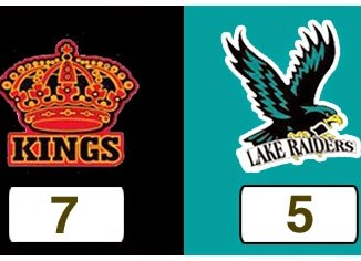 TPWHL Kings vs Lake Raiders