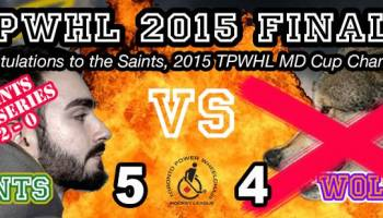 TPWHL Saints vs Wolves