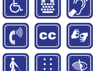 Accessibility logos