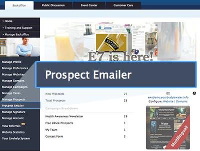 Prospect Emailer EWS