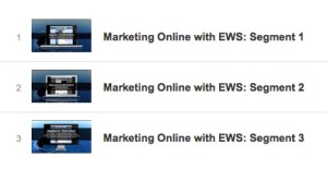 EWS Marketing Training