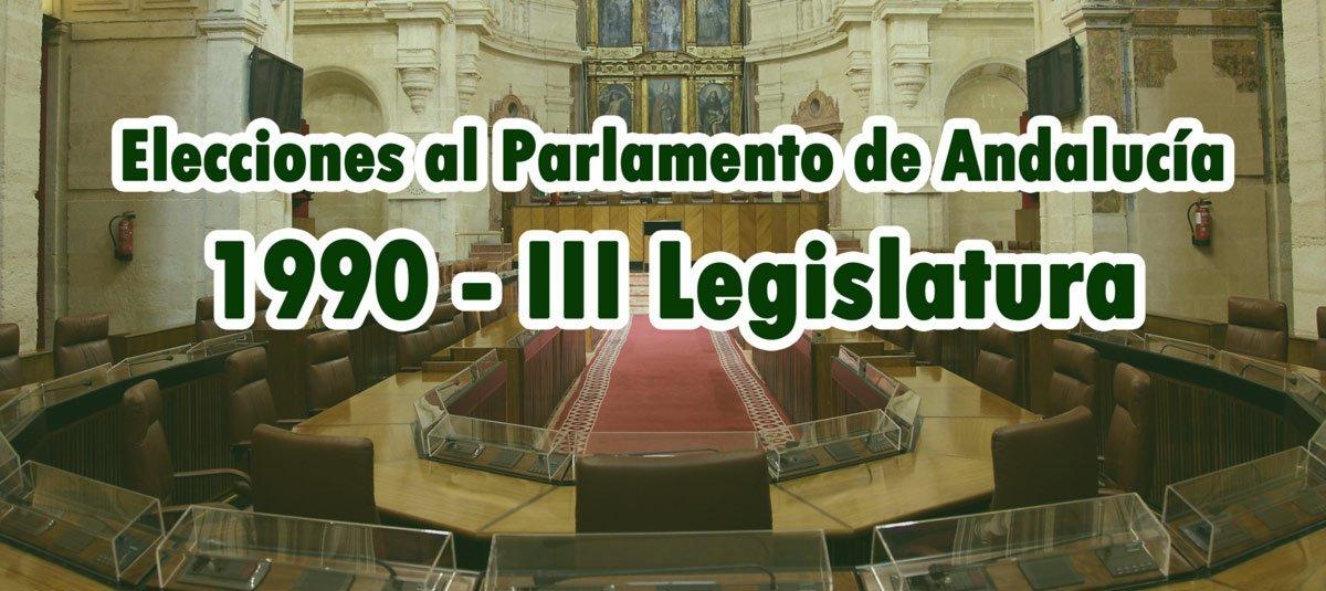Elecciones Andaluzas 1990
