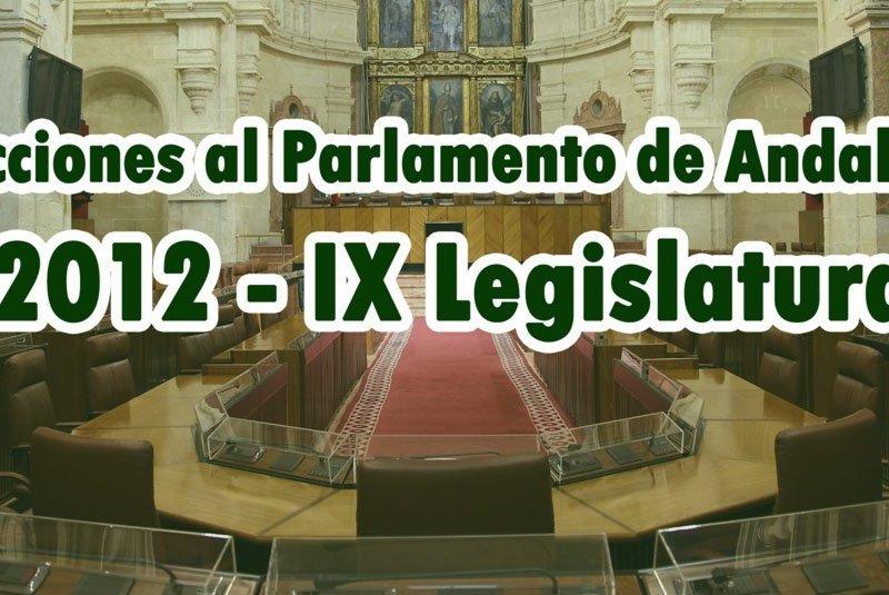 Elecciones Andalucía 2012