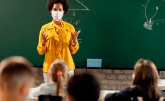 profesores mascarilla