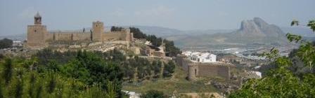 Castillo Antequera y Peña de los Enamorados