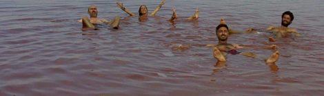 Baño en el Lago Rosa