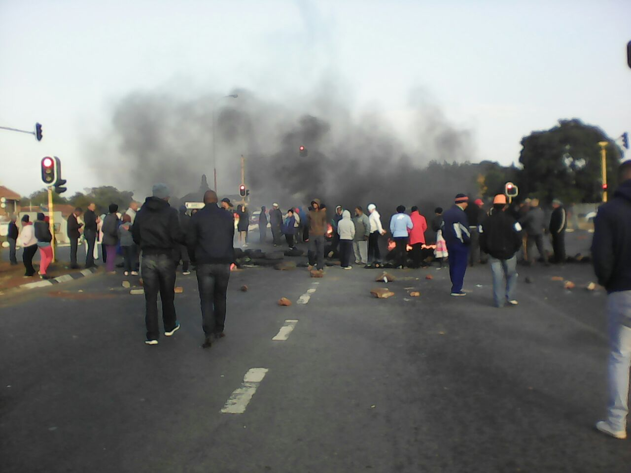Free Jacob Zuma protests spread to Johannesburg