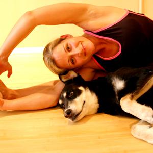 yoga para perros