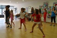 Montando coreografía