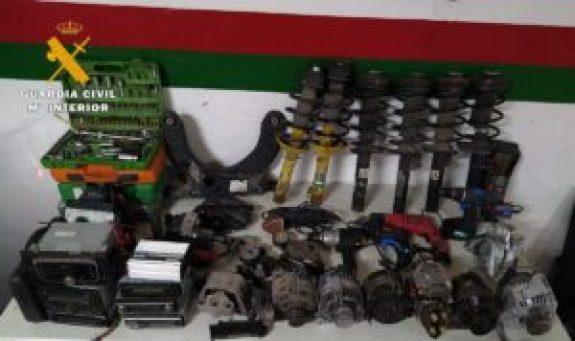 """Todo lo robado, en el marco de la operación """"Rotis"""". fue recuperado por la Guardia Civil"""