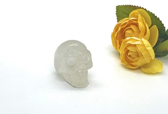 Small Clear Quartz Skull