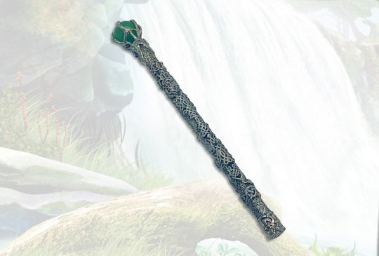 Celtic Wisdom Wand with Green Aventurine Sphere