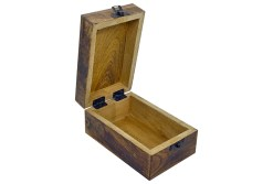 Owl Carved Wooden Box