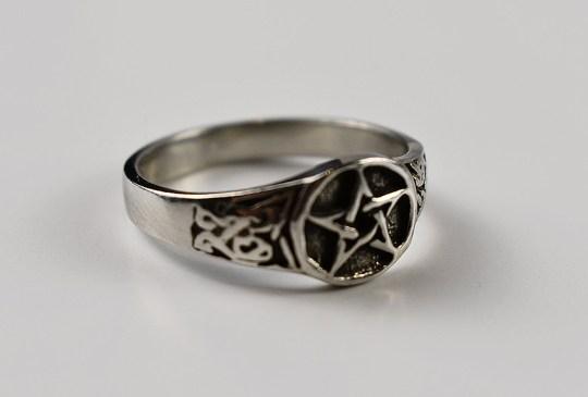 Celtic Pentagram in Sterling Silver Ring