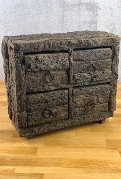 Natural Bark Herb Chest
