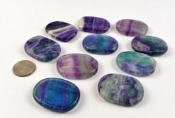 Purple Fluorite Medallion