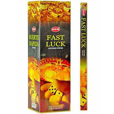 HEM Fast Luck Incense