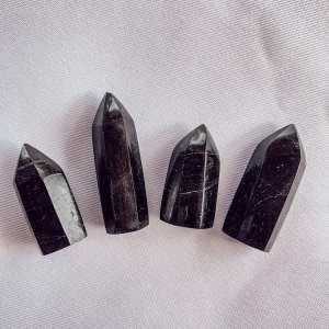 Black Tourmaline Points- Small