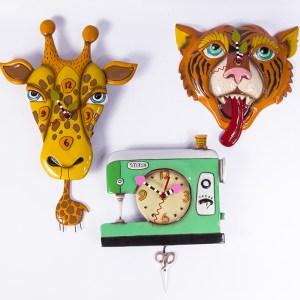 Whimsical Clocks