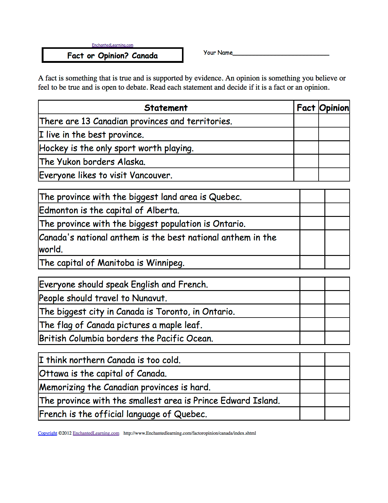Geography Worksheet New 34 Geography Worksheets Canada