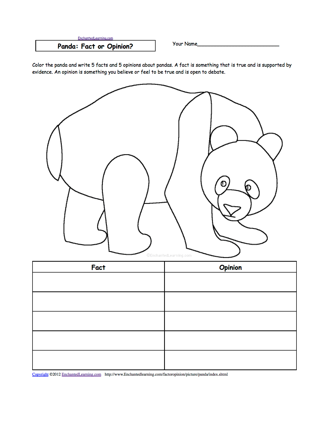 Polar Bear Worksheets Kindergarten