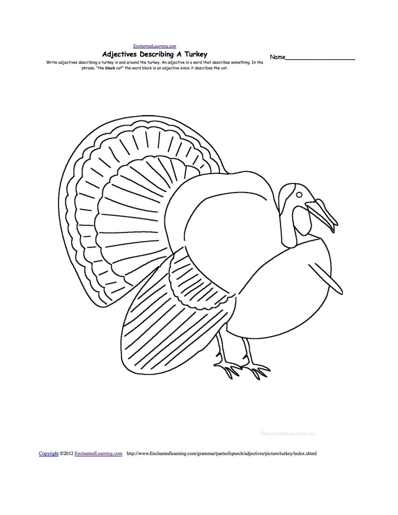 Bird Counting Worksheet