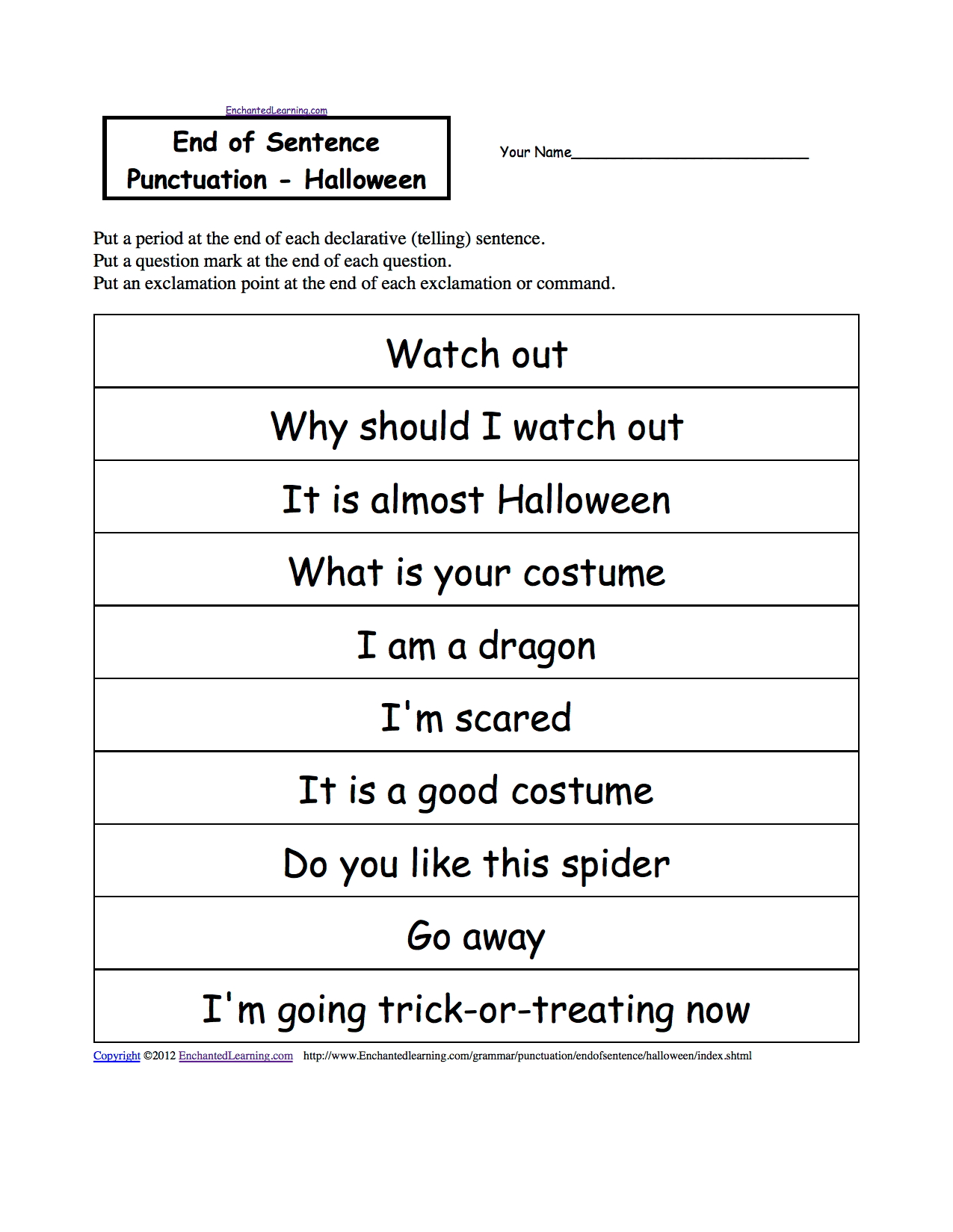 Halloween Fact And Opinion Worksheets