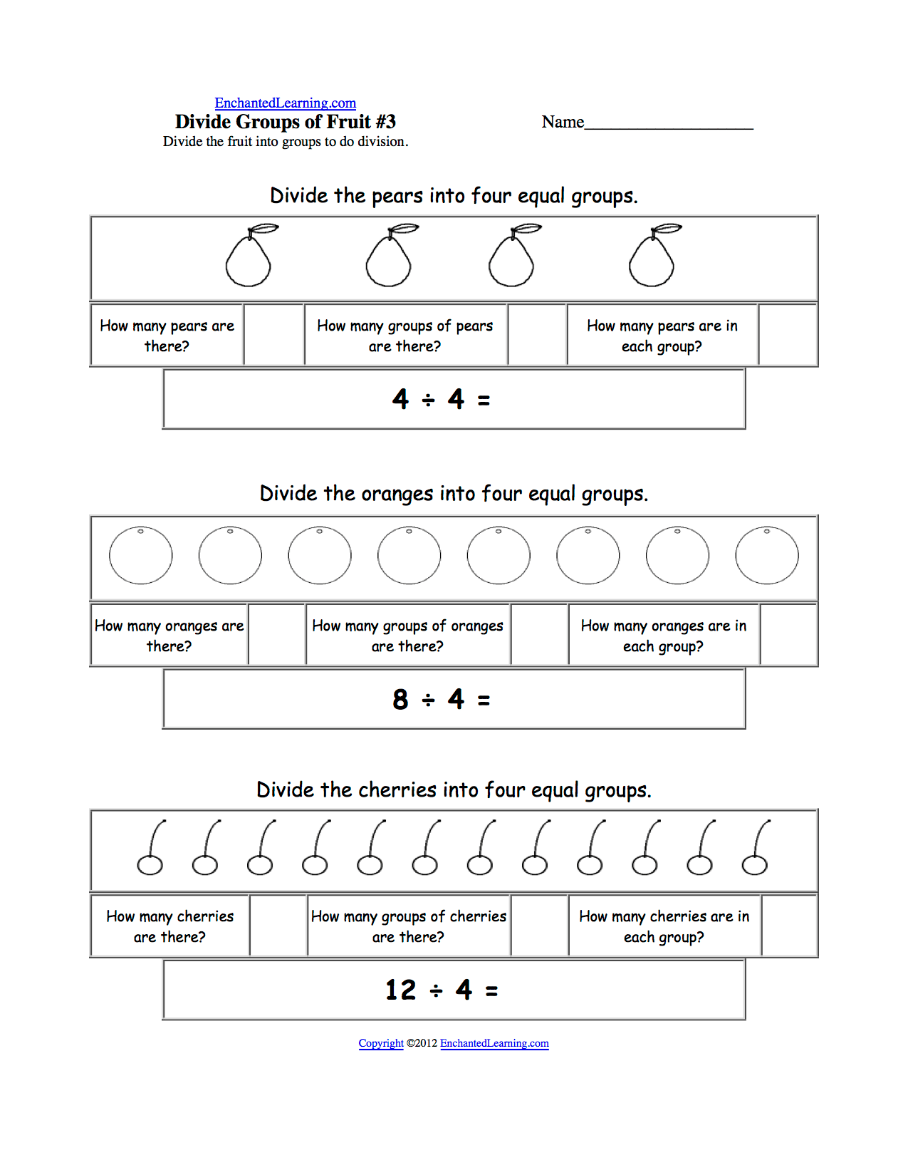 Worksheet Division By 3 Worksheets Worksheet Fun