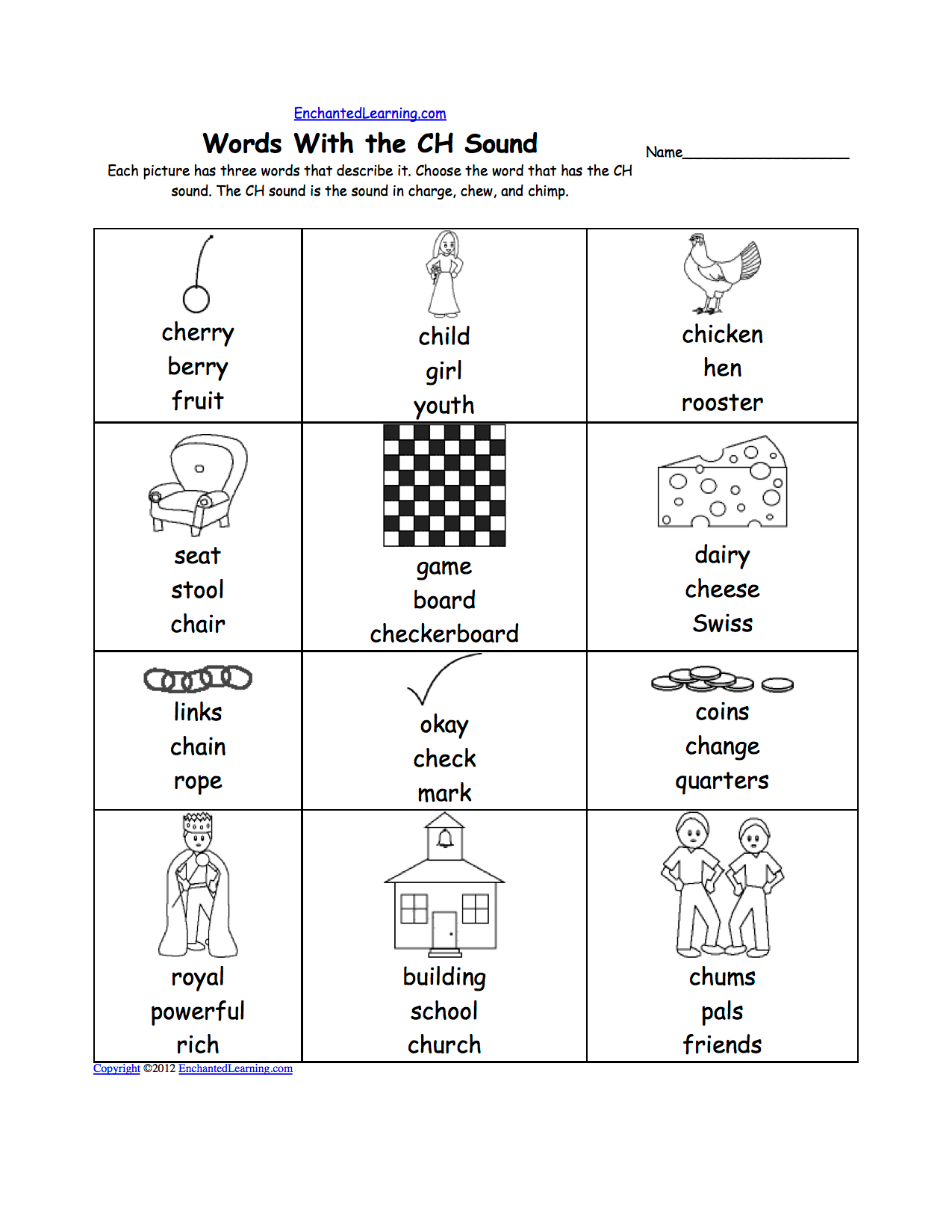 Phonics Worksheet Download