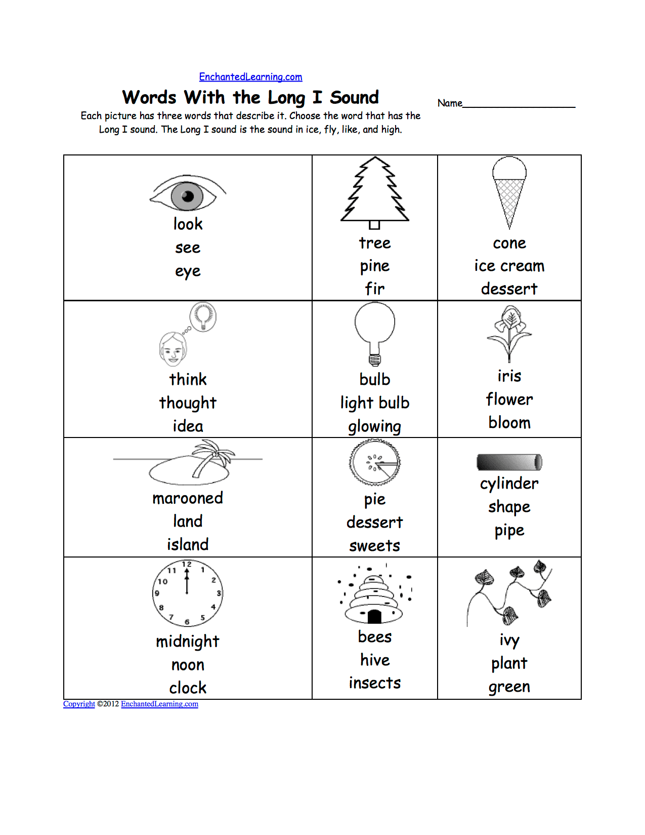 Printable Worksheet Letter Sounds D