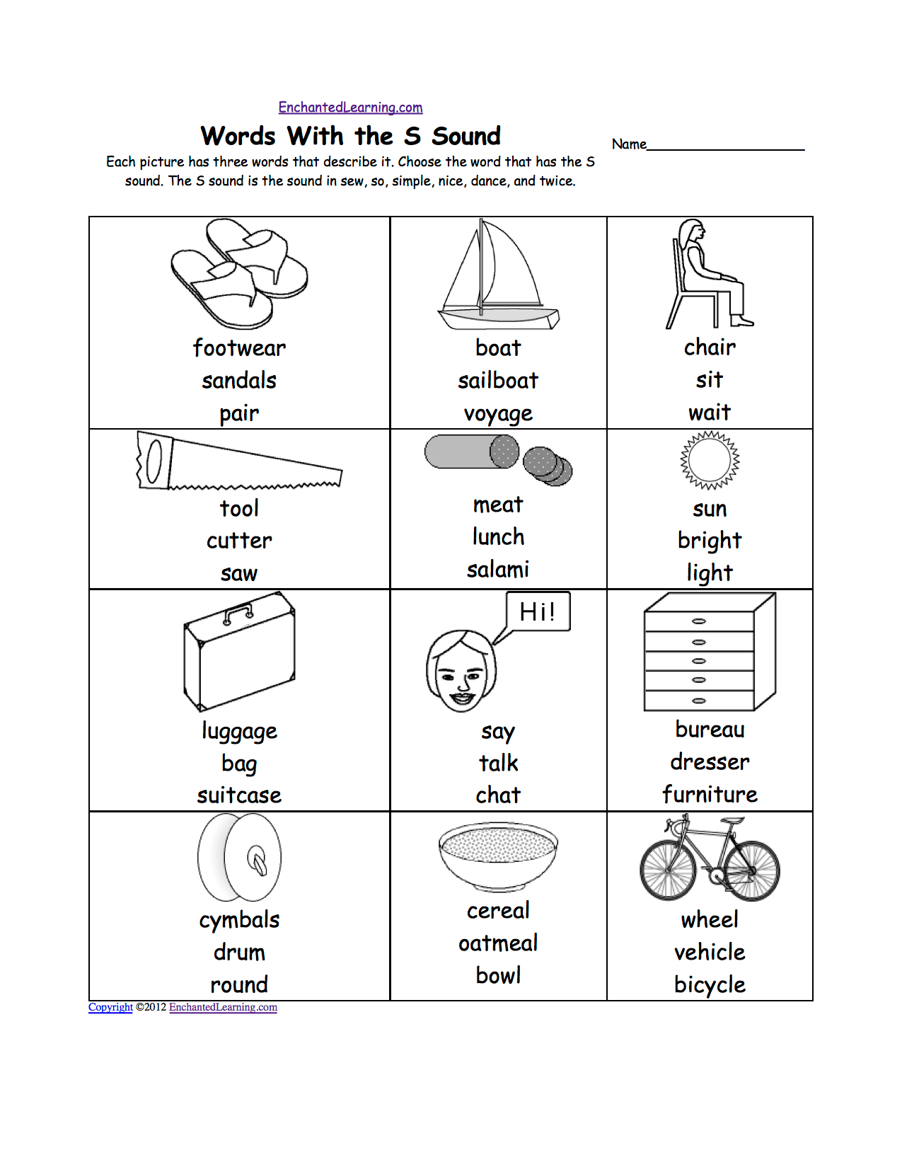 T Blends Worksheets