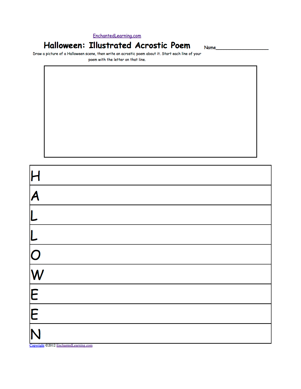 Free Halloween Worksheet 4th Grade