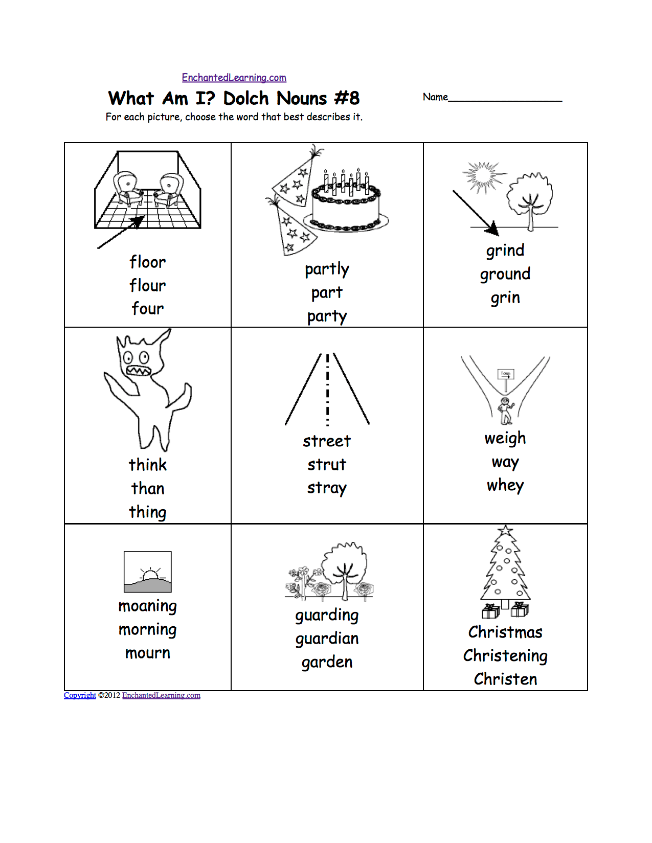First Grade Saxon Phonics Worksheets