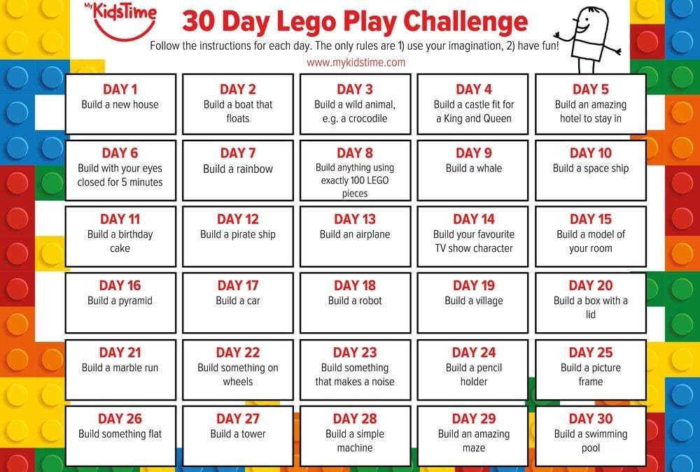 lego calendar inspired kids to build and create with lego