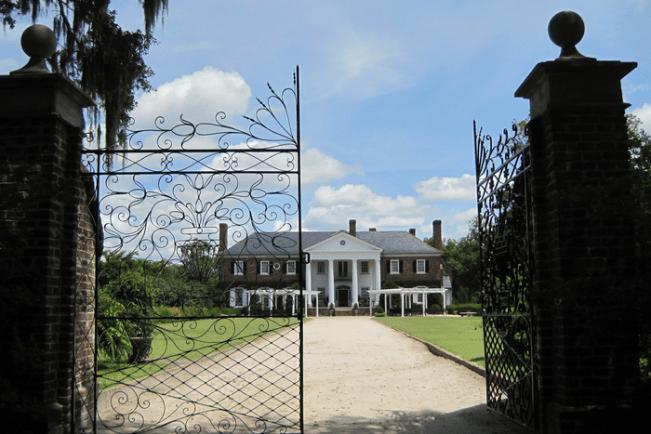 Boone Hall Plantation, Charleston, The Notebook