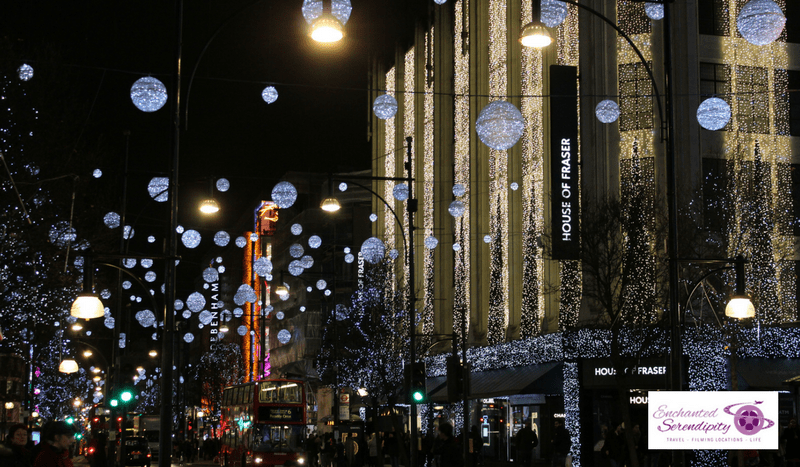 Christmas In London Oxford Street House Of Fraser
