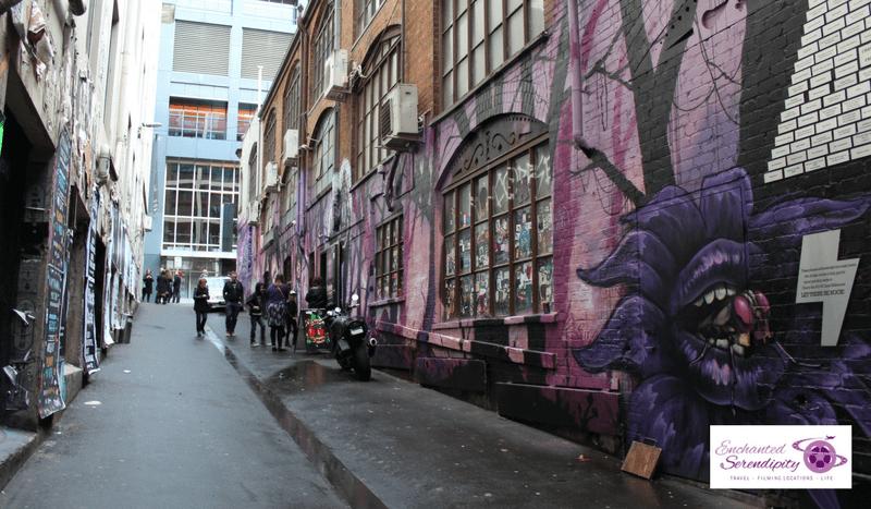 Melbourne Street Art ACDC Lane Full Shot