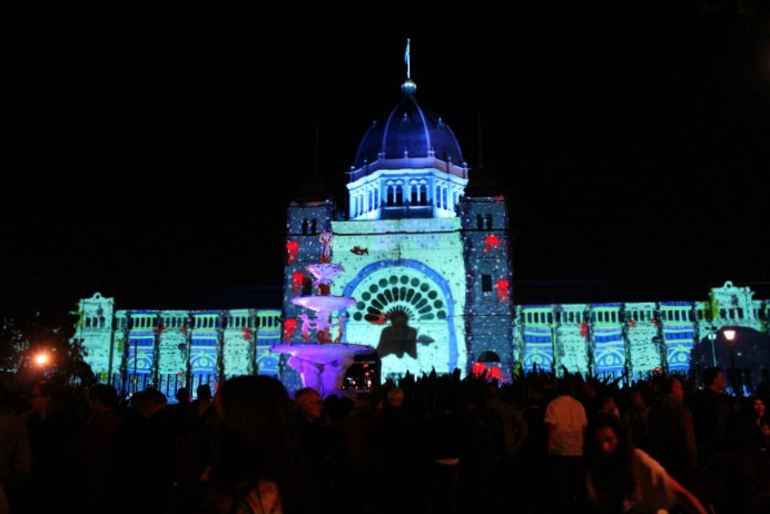 White Night 2016 Royal Exhibition Building