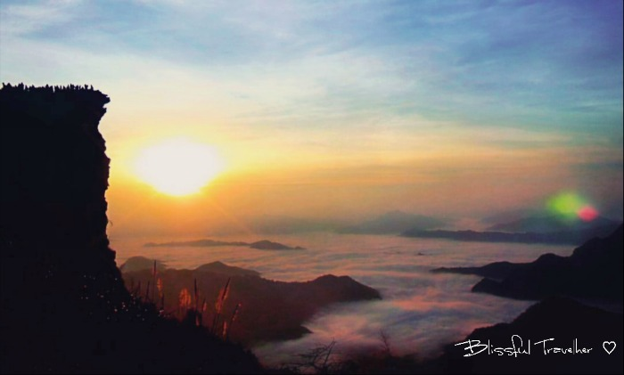 Sunrise Hike At Phu Chi Fa, Northern Thailand